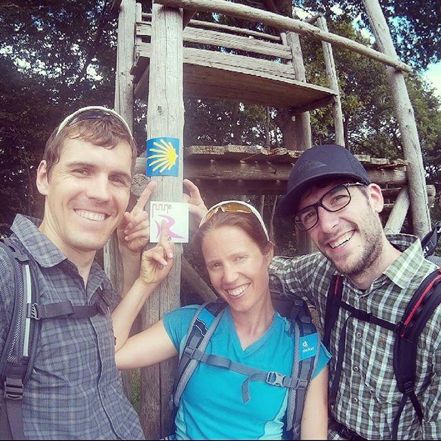 Auf meiner Jakobsweg-Reise mit Katrin und Daniel