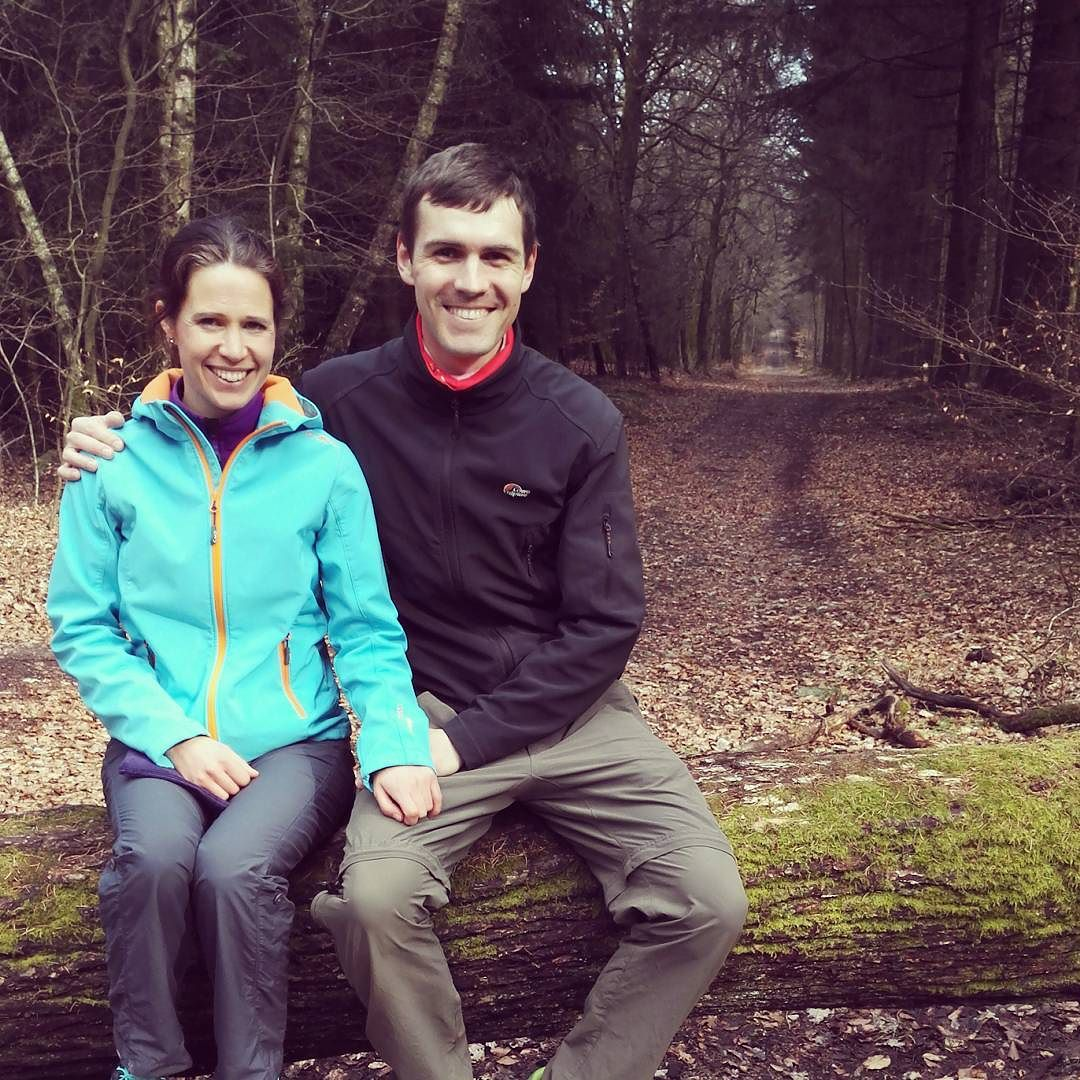 Katrin und Daniel von bevegt.de im Taunus