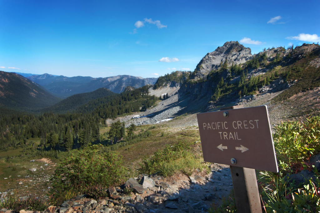 Pacific Crest Trail - PCT - Mount Rainier National Park - WanderVeg Spezial