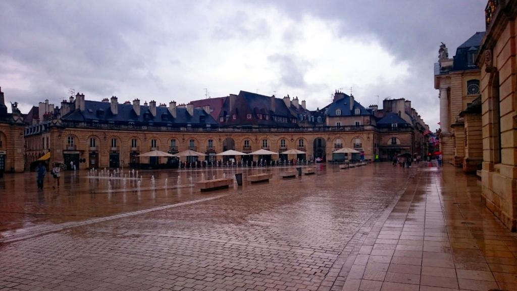 Pausentag in Dijon mit Regen - Jakobsweg-Tagebuch