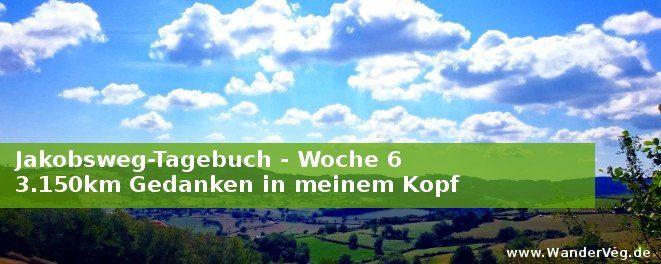WanderVeg Jakobsweg-Tagebuch Woche 6