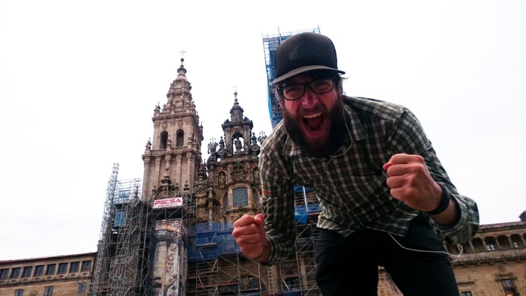WanderVeg Jakobsweg-Tagebuch Woche 13 Jakobsweg Ankunft Santiago de Compostela